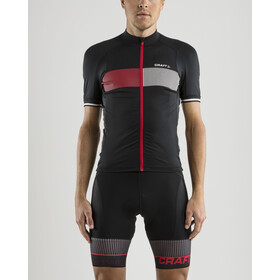 Craft Verve Glow Jersey Men Black/Bright Red
